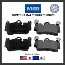 Replacement Rear Disc Brake Pad Premium For 2007-2015 Audi Q7 Brake Pads