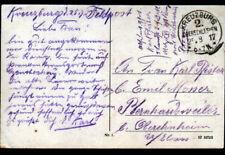 SAGAN / ZAGAN (ALLEMAGNE / POLOGNE) VILLAS & PONT / Postée à KREUZBURG en 1917