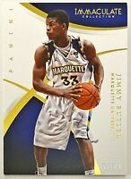2015 Immaculate Multi-Sport Jimmy Butler Base #'d 52/99 Marquette Miami Heat #54