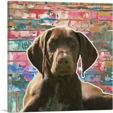 Artcanvas German Shorthaired Pointer Dog Breed Graffiti Canvas Art Print