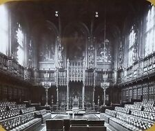 The House of Lords, London, England, Magic Lantern Glass Slide, British Sized