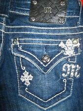 WOMENS MISS ME JEANS SIZE 27 x 30  BOOTCUT