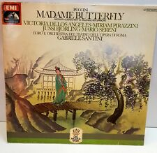 PUCCINI MADAME BUTTERFLY VINYL LP MADE IN GERMANY VERY RARE EDITION