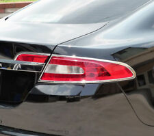 Brand-new CHROME TAILLIGHT TRIM SET,  add-on accessory for Jaguar XF models