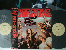 SCORPIONS WORLD WIDE LIVE / JAPAN COME WITH POSTER LIVE