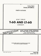 NORTH AMERICAN T-6G AND LT-6G PARTS CATALOG /TO 1T-6G-4