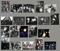 John Lennon photo set of 20 very rare real photographs, Beatles Concert Tour