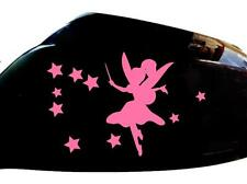 Fairy Stardust Car Sticker Wing Mirror Styling Decals (Set of 2), Pink