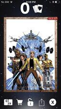 Topps Star Wars Digital Card Trader Bronze Evolution Comic Insert Award
