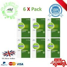 Dettol Soap 6 x Twin Pack, boxed (12 bars 100g Each Bar )