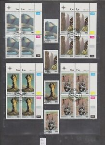 PC 41 _ South Africa. Nice selection of Rock Formations blocks & stamps