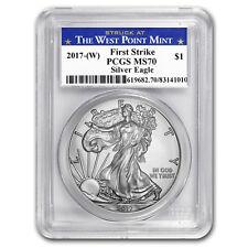 2017-(W) Silver American Eagle MS-70 PCGS (FS, West Point Mint) - SKU#150831