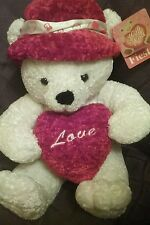 MOTHERS DAY GIFT Teddy Bear New Heart Stuffed Plush Toy Girls Childs Mom Love