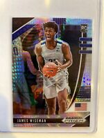 2020-21 Panini Prizm Draft Picks JAMES WISEMAN Silver Hyper Warriors RC #2
