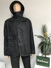 £429 Barbour x Engineered Garments UPLAND Wax Waxed Jacket Navy Blue Medium M