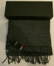 Il Moro Firenze Made In Italy 100% Wool Scarf Grey New With Tags Make An Offer!