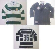 =Boys top rugby shirt ex store  NEXT age 4 5 6 7 8 9 10 11 12 years navy