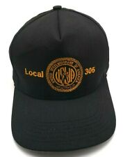 USW LOCAL 305 black adjustable cap / hat - UNITED STEEL WORKERS OF AMERICA
