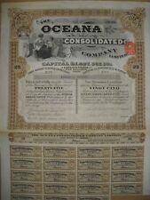 Oceana Consolidated Company londres 1929