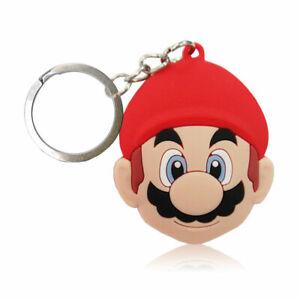 Pocket Keychain Super Mario Cartoon Characters DC Comics Toys Keytag Keyring