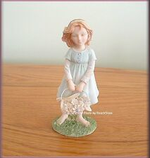 I LOVE YOU MOM GIRL FIGURINE BY ENESCO FOUNDATIONS FREE U. S. SHIPPING