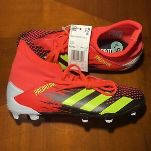 ADIDAS PREDATOR 20.3 FG YOUTH SOCCER CLEATS SHOES FV3183 SIZE 5.5