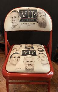 WWE 2014 VIP Experience Wrestling Seat Chair CM Punk John Cena Alberto Del Rio