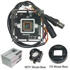 "Sunvision 1000TVL 1/3"" HD CMOS CCTV Board Camera + M12 & CS Base Mounts (BC10A)"