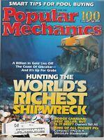 Popular Mechanics Magazine June 2002 Hunting the World's Richest Shipwrecks