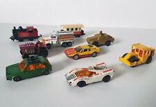 New listing Lot - 9 Vintage Matchbox Cars - 70's & 80's - Volkswagen Golf, Hairy Hustler etc