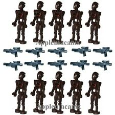 10 NEW LEGO 75012 9488 Star Wars Commando Battle Droid Minifigure Figures w/Gun