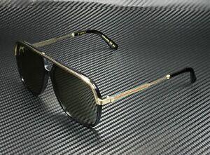 GUCCI GG0200S 001 Black Green Square Rectangle Men's Sunglasses 57 mm