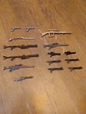 Lot Of 15 1:12 Action Figures Guns And Blasters! Marvel Legends, Black Series