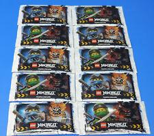 Blue Ocean LEGO NINJAGO Serie 3 / Cartas Coleccionables TRADING CARDS 10 PACK =