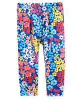 First Impressions Baby Girls Ditsy Floral-Print Leggings
