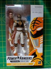 New listing Power Rangers Lightning Collection Mighty Morphin White Ranger Action Figure