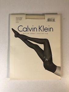Vintage Calvin Klein 1994 Active Cntl-Top Pantyhose Size C Ivory Style 904  C4