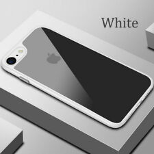 For iPhone 8 Plus X Hybrid Clear 3D Soft Silicone Rubber Phone Cases Armor Cover