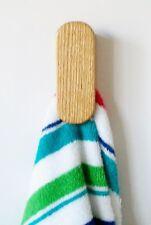 Towel rack hanger hook Kitchen Bath Magic towel holder Oak mini JR modern design