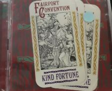 FAIRPORT CONVENTION- KIND FORTUNE *CD 2PZ BRAND NEW SEALED NUOVO SIGILLATO RARO