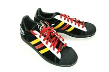 6f0e9425dcb1 Adidas Miami Heat Superstar Casual Low Top Suede Shoes New with Tags Men s  11.5