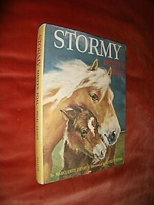 STORMY. MISTY'S FOAL. MARGUERITE HENRY. 1963 1st EDITION HARDBACK in DUST JACKET