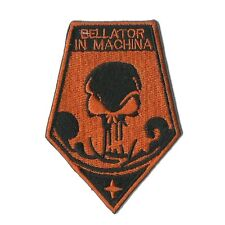 "X-Com Bellator 3.5"" x 2.5"" Logo Sew Ironed On Badge Embroidery Applique Patch"