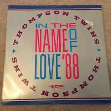 "THOMPSON TWINS - IN THE NAME OF LOVE - 12"" SINGLE  VINYL"