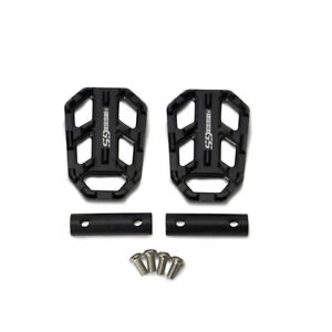Motorcycle Foot Pegs Front Billet Wide Pedals Rest Footpegs for BMW R1200GS Y8H2