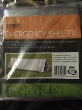Pellicola di emergenza Tenda 1 persona Sopravvivenza Emergency Shelter Tenda Campeggio, Escursionismo, Regno Unito