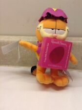 "RUSSELL STOVER"" GARFIELD"" IN EASTER EGG COSTUME 8"" Plush With Suction Cup"
