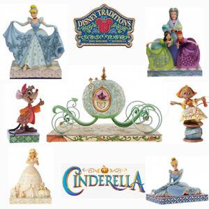 Range Of Disney Traditions Cinderella Figurines Brand New & Boxed