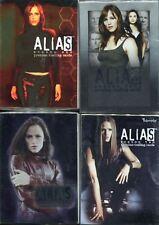 Inkworks Alias Seasons 1-4 Complete Base Sets 324 Cards In Total SALE