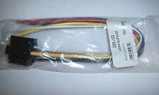 (1) 12V DC SPDT Relay Socket Harness 5 Pin Wire 16-14 GA Gauge Plug End New!